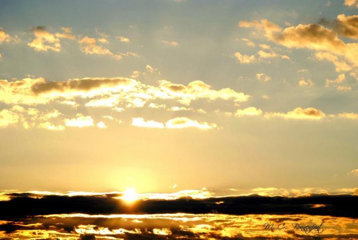 Coucher soleil Juillet